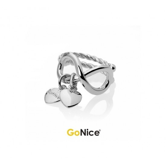 Anello con Infinito Name to Name Infinite Love Argento