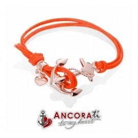 Bracciale con Ancora BoatLove AncoraTi Rosè Arancio