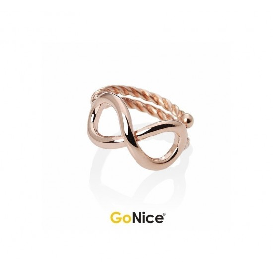 Anello con Infinito Name to Name Simple Infinite Love