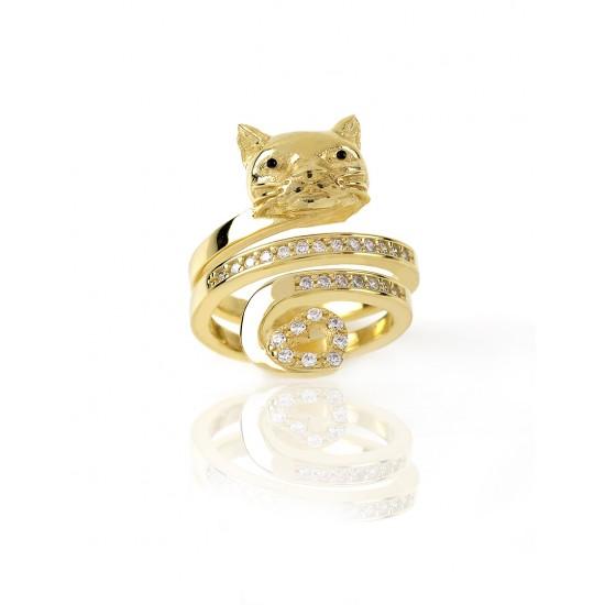 Anello Gatto LA GATTA I LOVE CATS LG40ANG