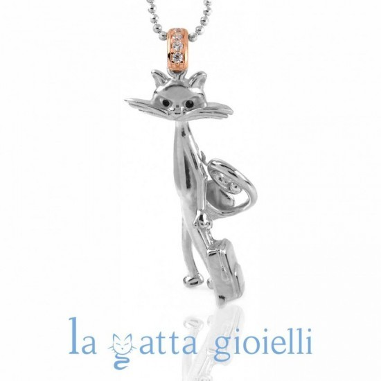 Collana Gatto La Gatta COSMOPOLITA