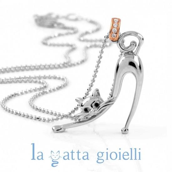 foto ufficiali 0b7ea c3176 Collana Gatto La Gatta Elegante