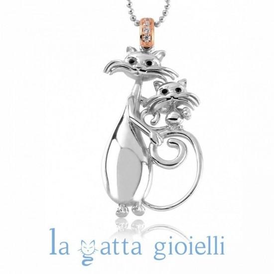 Collana Gatto La Gatta MAMMONA