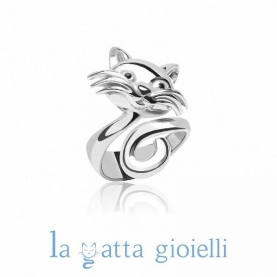 l'atteggiamento migliore cf656 a1769 Anello Gatto, La Gatta ANELLO