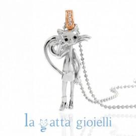 Collana Gatto, La Gatta TECNO-CHIC