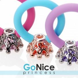 Anello Princess Infinite Love Quarzo Multicolor