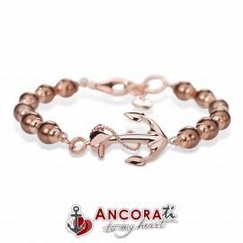 Bracciale con Ancora Sublime AncoraTi Rosè Bronze