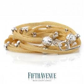 Bracciale Fifth Avenue Lurex e Argento 925 FA_400_BR_G