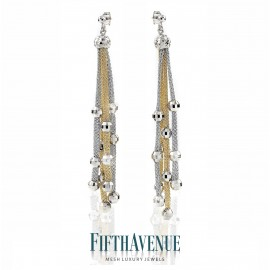 Orecchini Fifth Avenue Lurex e Argento 925 FA_400_OR_GB