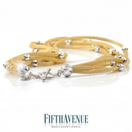 Collana Fifth Avenue Lurex e Argento 925 FA_400_CLS_GG
