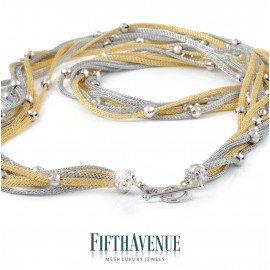 Collana Fifth Avenue Lurex e Argento 925 FA_400_CLS_GB