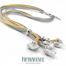 Collana Fifth Avenue Lurex e Argento 925 FA_403_CL_BG
