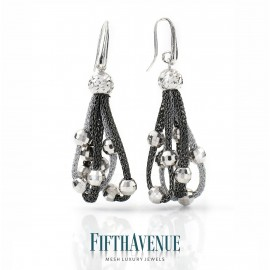 Orecchini Fifth Avenue Lurex e Argento 925 FA_402_OR_SB