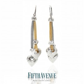 Orecchini Fifth Avenue Lurex e Argento 925 FA_403_OR_GB