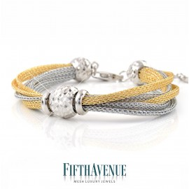 Bracciale Fifth Avenue Lurex e Argento 925 FA_404_BR_GB