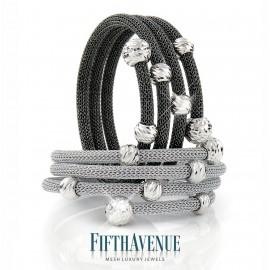 Bracciale Fifth Avenue Lurex e Argento 925 FA_420_BR_S