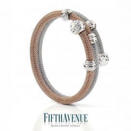 Bracciale Fifth Avenue Lurex e Argento 925 FA_430_BR_RB