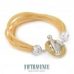 Bracciale Fifth Avenue Lurex e Argento 925 FA_450_BR_G