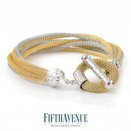 Bracciale Fifth Avenue Lurex e Argento 925 FA_450_BR_GB