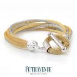 Bracciale Fifth Avenue Lurex e Argento 925 FA_450_BR_GB
