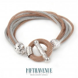 Bracciale Fifth Avenue Lurex e Argento 925 FA_450_BR_RB